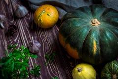 Autumn Pumpkins Image stock