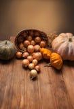 Autumn Pumpkins Images libres de droits