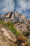 Autumn in pyrenees Stock Photos