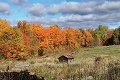 Autumn in Quebec. Canada, north America. Autumn in Quebec. Canada north America stock image