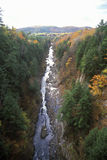 Autumn at Queechee Gorge, VT Royalty Free Stock Images