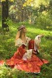 Autumn queen Stock Photos