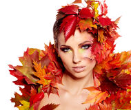 Autumn Queen Royalty Free Stock Photo