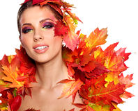 Autumn Queen Royalty Free Stock Image