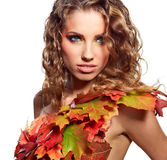 Autumn Queen Stock Photo