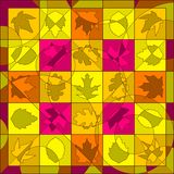 Autumn quilt Royalty Free Stock Image