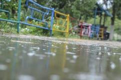 Autumn Rain Photographie stock