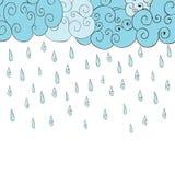 Autumn Rain Photo libre de droits