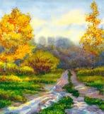 Autumn Rain Images libres de droits