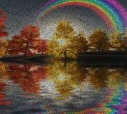 Autumn Rainbow ilustração royalty free