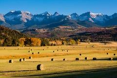 Autumn Ranch. Autumn scene on a ranch near Ridgway, Colorado Royalty Free Stock Photos
