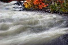Autumn Rapids encoberto 1 Fotos de Stock