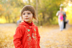 Autumn is a real fun! Stock Images