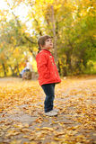 Autumn is a real fun! Royalty Free Stock Photography