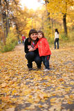 Autumn is a real fun! Royalty Free Stock Photos