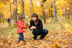 Autumn is a real fun! Stock Photos
