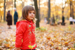 Autumn is a real fun! Royalty Free Stock Image