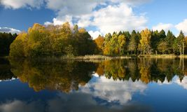Autumn Reflection Royalty Free Stock Images
