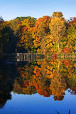 Autumn reflection Royalty Free Stock Image