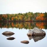 Autumn Reflection Imágenes de archivo libres de regalías