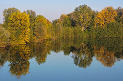 Autumn Reflection Fotos de archivo