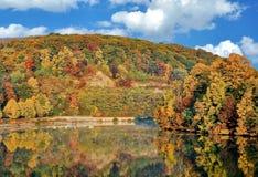 Autumn Reflection fotografia de stock royalty free