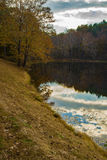 Autumn Reflections – Blue Ridge Parkway, Virginia Stock Photography