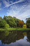 Autumn Reflections. Autumn at Exbury in the New Forest Royalty Free Stock Image