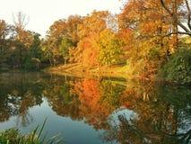 Autumn Reflections Foto de Stock Royalty Free
