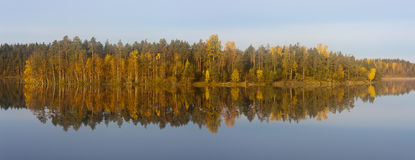 Autumn Reflections Fotos de archivo libres de regalías