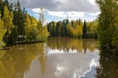Autumn Reflections Immagine Stock