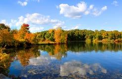 Autumn reflections Royalty Free Stock Photo