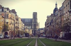 Autumn in Reims Royalty Free Stock Photos