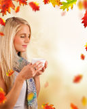 Autumn relax Stock Images