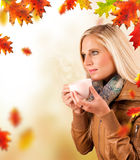 Autumn relax Stock Photography