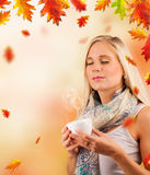 Autumn relax Royalty Free Stock Photography