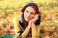 Autumn relaxation Royalty Free Stock Images