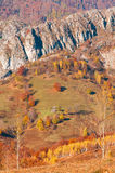 autumn in a remote mountain place Royalty Free Stock Photos