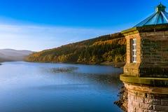Autumn Reservoir Stock Foto