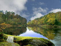 Autumn retreat Stock Photography