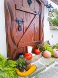 Autumn retro style house decor royalty free stock photography