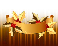 Autumn ribbon Royalty Free Stock Photos