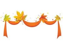 Autumn ribbon Royalty Free Stock Photography