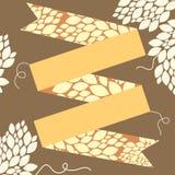 Autumn Ribbon Stock Photography