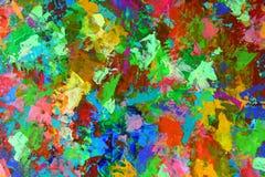 Autumn riot of colors. Author`s illustration, horizontal stock illustration