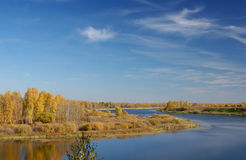Autumn_river Image stock