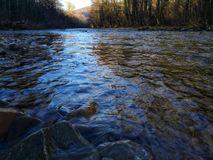 Autumn River royalty-vrije stock foto's