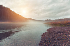 Free Autumn River Stock Images - 27037354