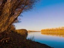 Autumn River Photo stock