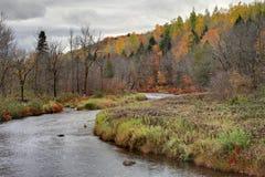 Autumn River Bend Royalty Free Stock Photo